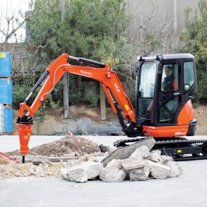3 Ton Excavator Image 2