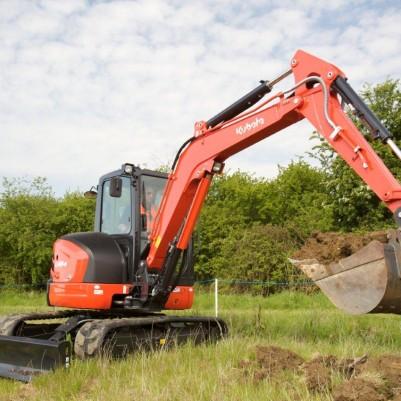 5 Ton Excavator Image 1