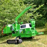 9ins Tracked Chipper Greenmech CM220