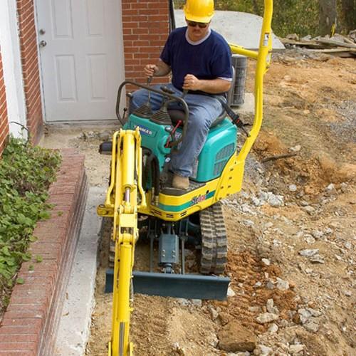Micro Excavator Image 3