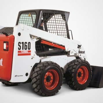 Large Skid-Steer Bobcat 160