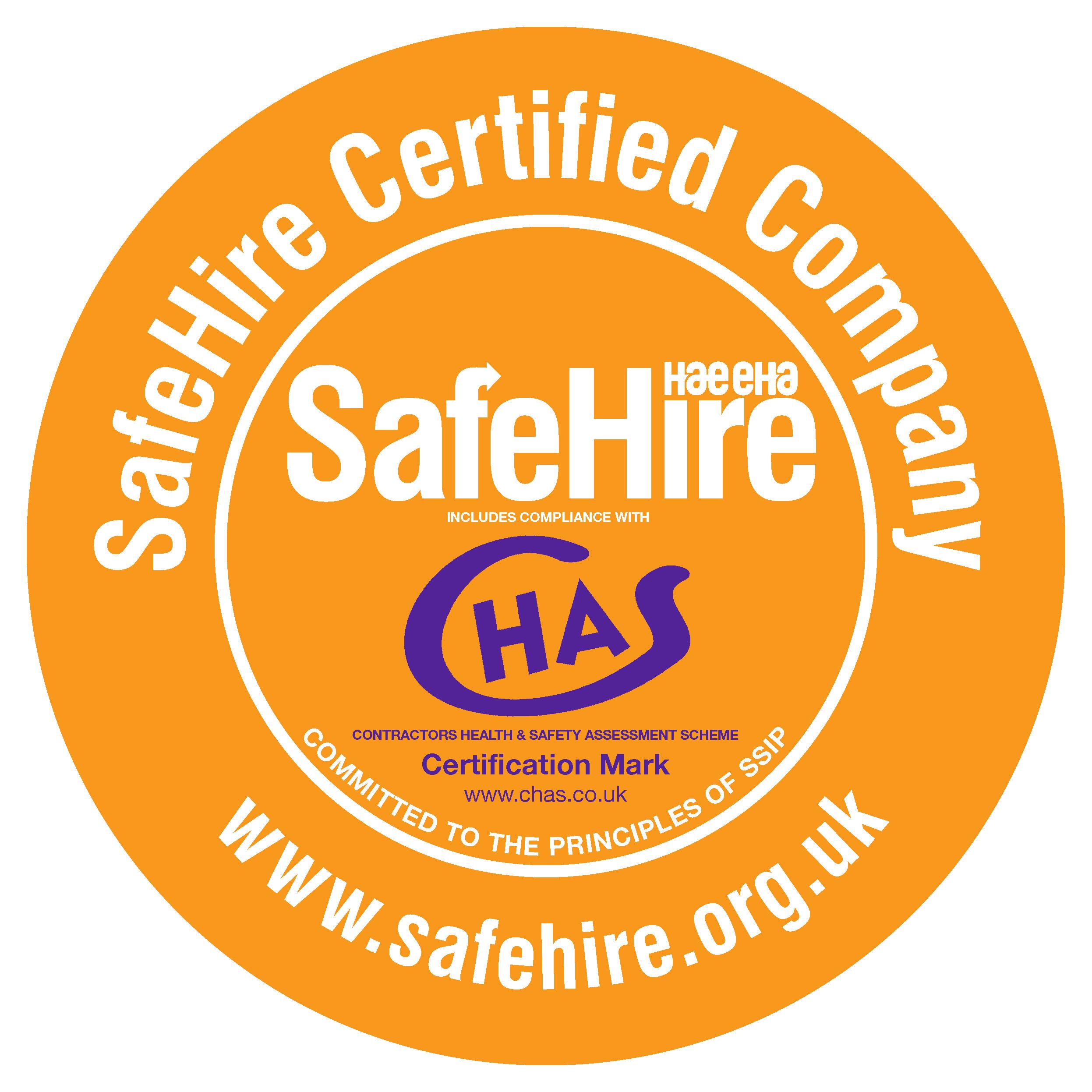 Safehire Certified Company