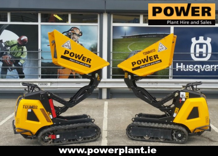 DUMPERS FOR HIRE IN WEXFORD FROM POWER PLANT HIRE