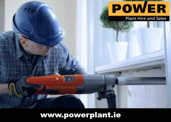 DRILLING AND BREAKING EQUIPMENT FOR HIRE IN WEXFORD FROM POWER PLANT HIRE