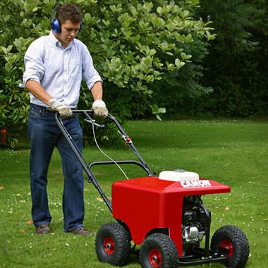 Powered Lawn Aerator Great The Camon Lawn Aerator Can Be