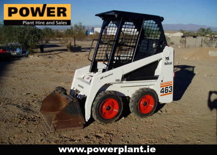 SKIDSTEERS FOR HIRE IN WEXFORD FROM POWER PLANT HIRE
