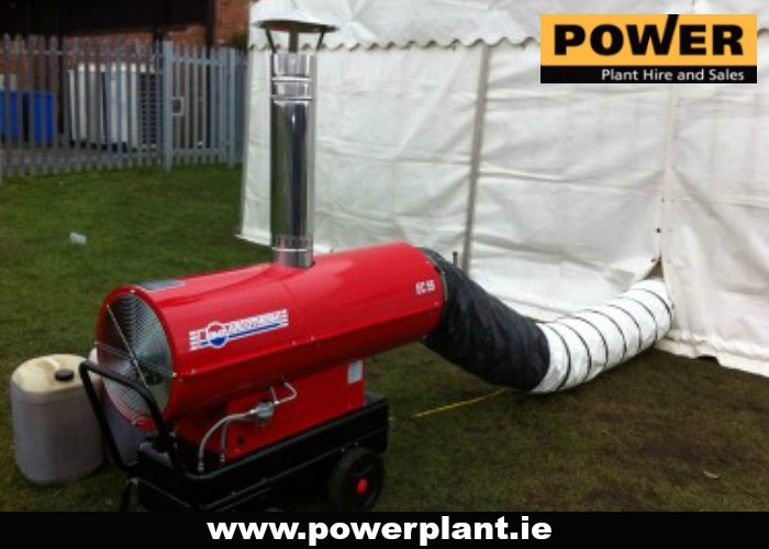 10-10HEATER FOR HIRE IN WEXFORD FROM POWER PLANT HIRE