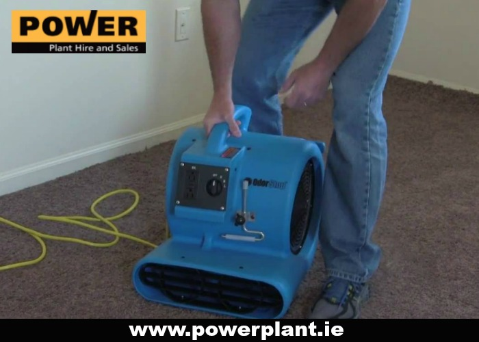 AIR MOVER FOR HIRE IN WEXFORD FROM POWER PLANT HIRE