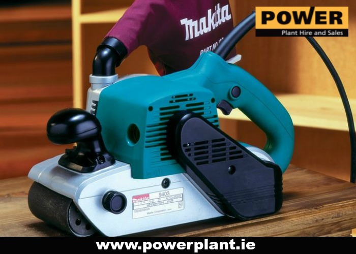 BELT SANDER FOR HIRE IN WEXFORD FROM POWER PLANT HIRE