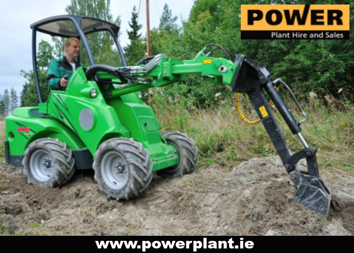 COMPACT LOADER FOR HIRE IN WEXFORD FROM POWER PLANT HIRE
