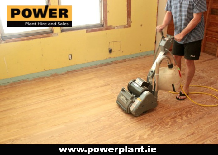 FLOOR DRUM SANDER FOR HIRE IN WEXFORD FROM POWER PLANT HIRE