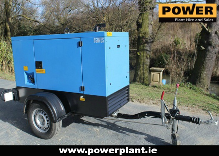 GENERATOR HIRE IN WEXFORD FROM POWER PLANT HIRE