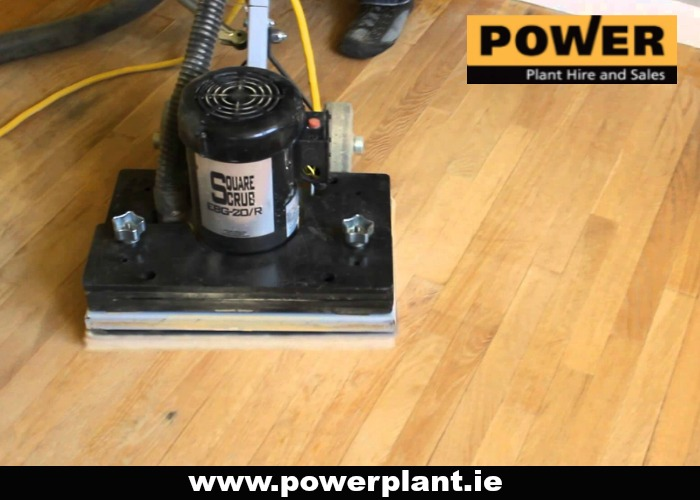 SQUAR BUFF FLOOR SANDER FOR HIRE IN WEXFORD FROM POWER PLANT HIRE