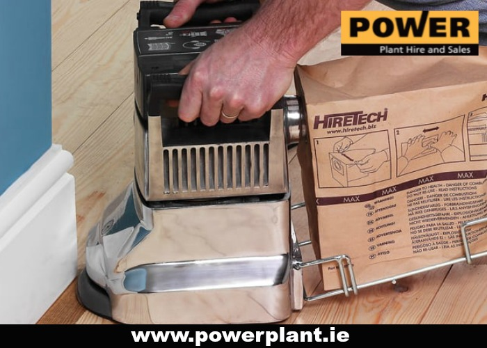EDGING SANDER FOR HIRE IN WEXFORD FROM POWER PLANT HIRE