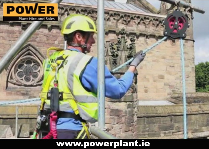 LIFTING AND HANDLING EQUIPMENT FOR HIRE IN WEXFORD FROM POWER PLANT HIRE
