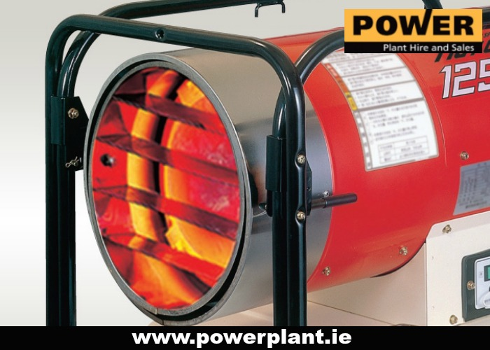 HEATER FOR HIRE IN WEXFORD FROM POWER PLANT HIRE