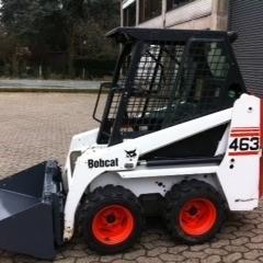Small Skid-Steer Bobcat-463 Image 2