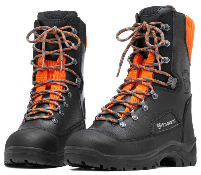 HUSQVARNA Protective Leather Boots With Saw Protection Classic 20