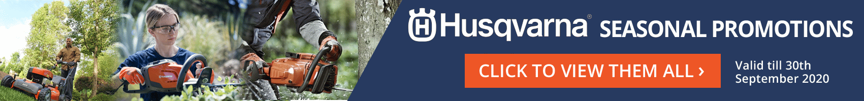 Husqvarna Seasonal Promotions