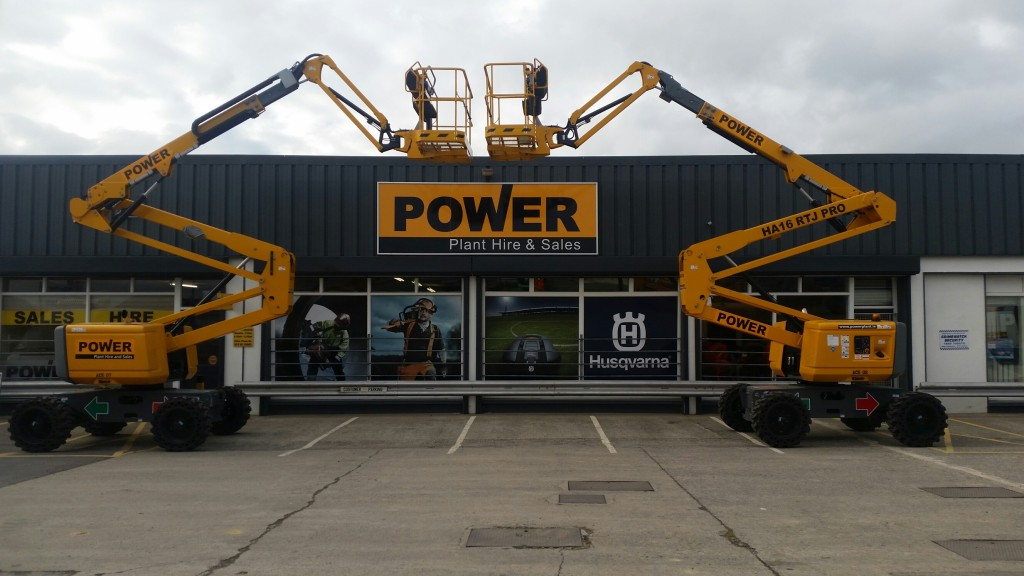 5 May POWER PLANT HIRE NEW HAULOTTE HA16 RTJ PRO'S BOOM LIFTS 2