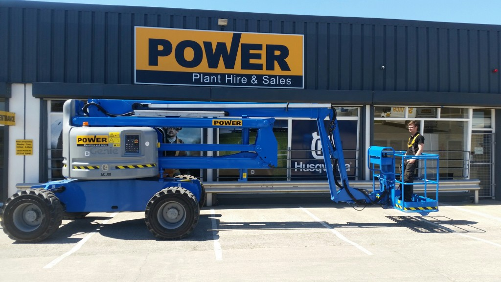 POWER PLANT HIRE GENIE Z60 ARTICULATING BOOM