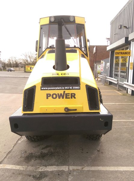 Bomag 177 Soil Compactor for sale Power Plant Hire