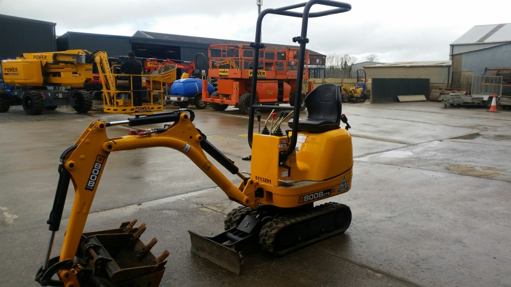 JCB 8008 MICRO DIGGER, FOR SALE