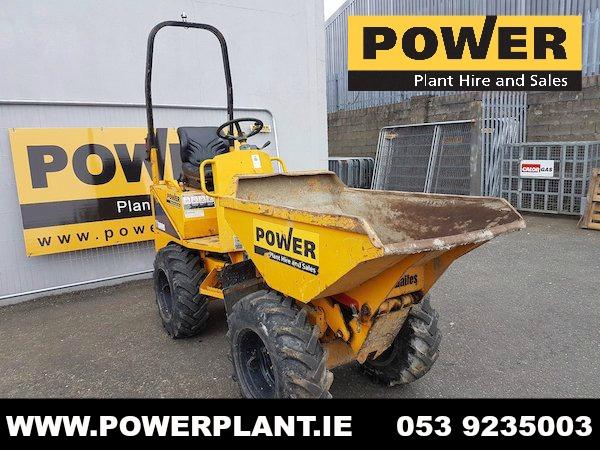 thwaites-1-ton-hi-tip-dumper-for-sale-wexford-power-plant-hire