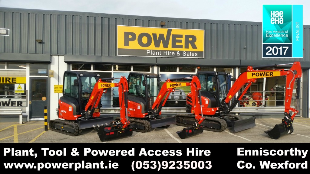 Plant Hire Wexford