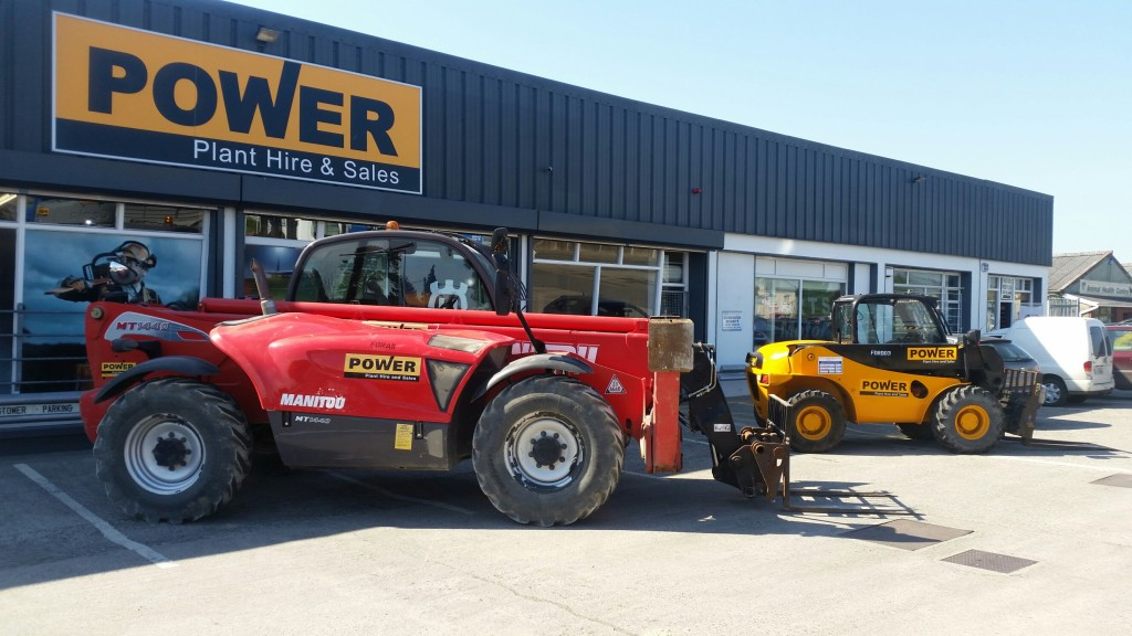 telehandler hire wexford power plant hire