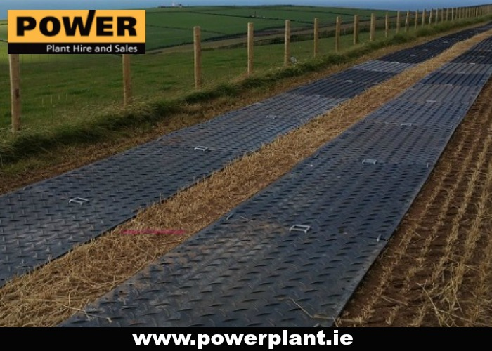 GROUND PROTECTION MATS FOR HIRE IN WEXFORD FROM POWER PLANT HIRE