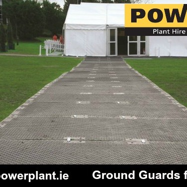 Ground Guards Multitrack For Events Power Plant Hire
