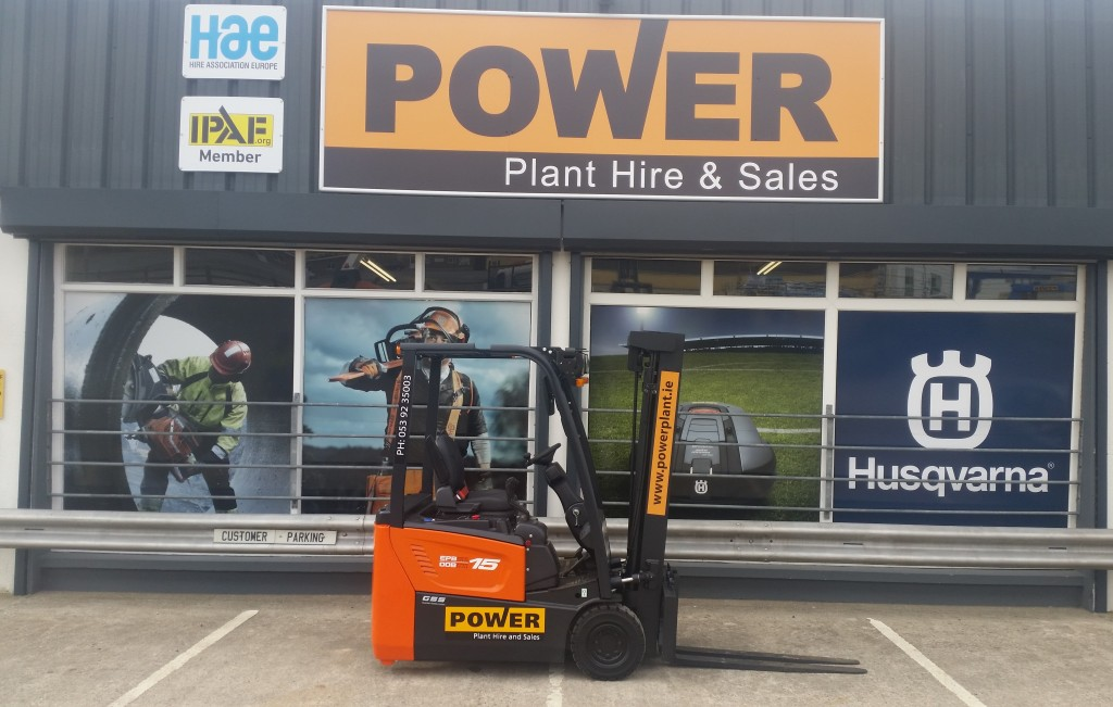 battery-forklift-hire-leinster-power-plant-hire-wexford