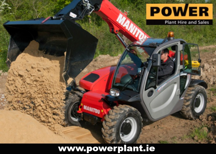 TELEHANDLER HIRE IN WEXFORD FROM POWER PLANT HIRE