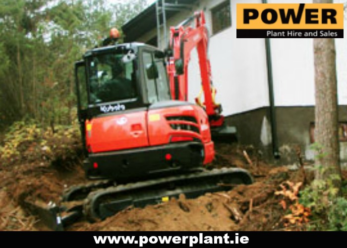 MINI DIGGER HIRE WEXFORD POWER PLANT HIRE