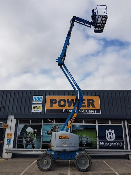 Genie Z45 25 J Rt Cherrypicker Power Plant Hire And Sales