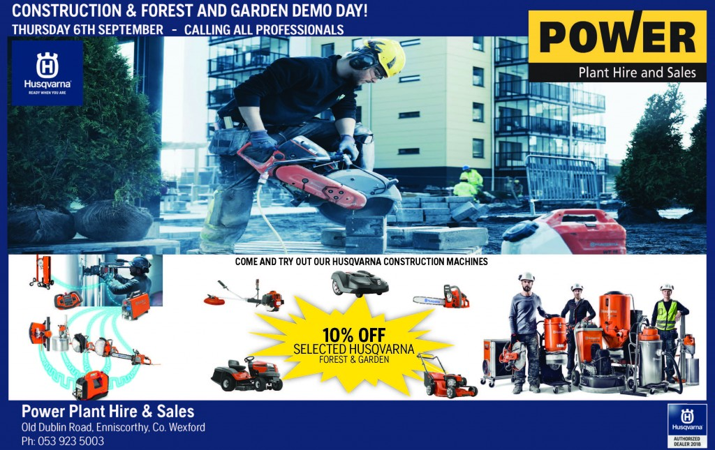 power-plant-hire-husqvarna-open-day