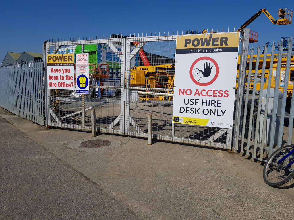 power-plant-hire-no-access-to-yard-covid-19