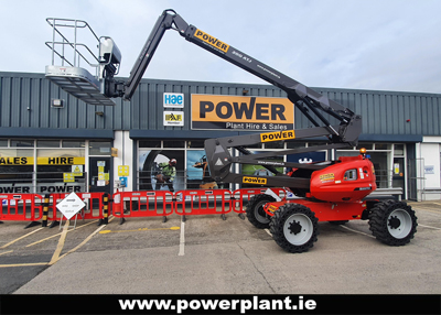 MANITOU 200 ATJ CHERRY PICKER HIRE WEXFORD WICKLOW POWER PLANT HIRE 2020