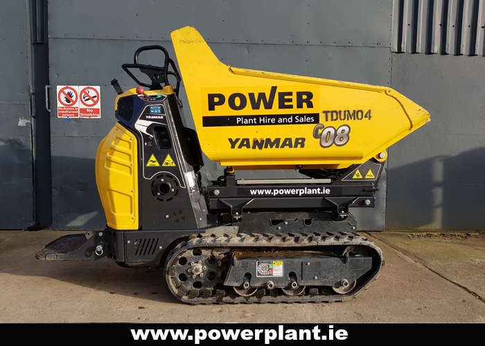 YANMAR C08 HI TIP TRACKED DUMPER HIRE WEXFORD POWER PLANT HIRE 2020