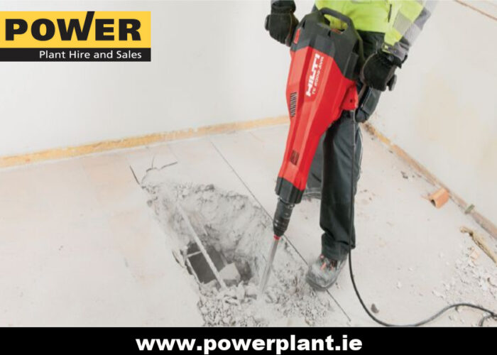 HILTI TE 2000 BREAKER HIRE WEXFORD POWER PLANT HIRE 2020