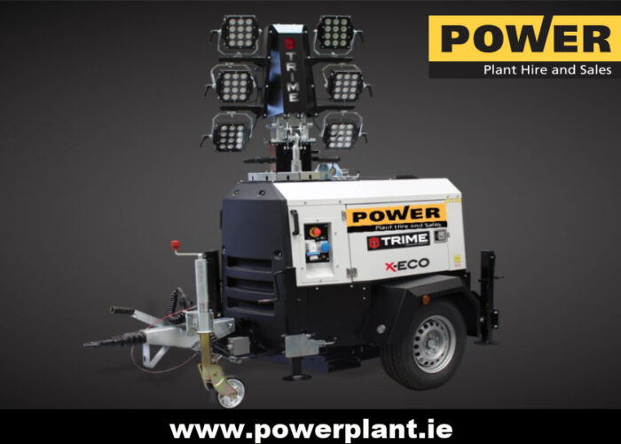 TRIME LED LIGHTING TOWER HIRE WEXFORD WICKLOW POWER PLANT HIRE 2020
