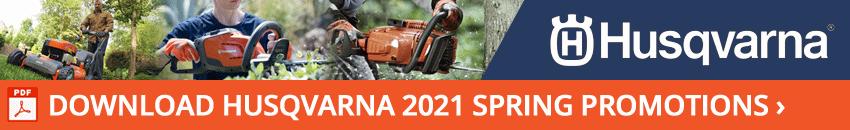 Husqvarna 2021 Spring Promotions
